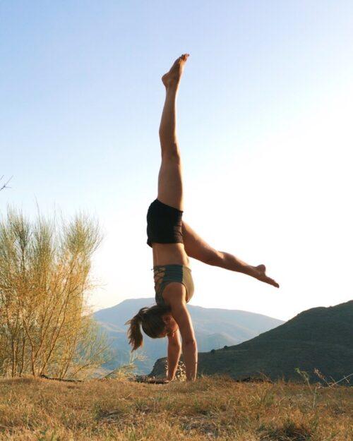 Handstand in Spain