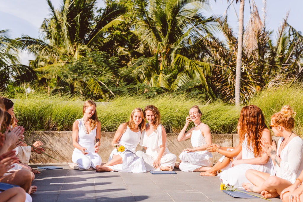 my 200 hour vinyasa yoga teacher training bali at Ubud Yoga centre graduation ceremony