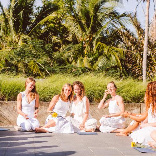 my 200 hour vinyasa yoga teacher training bali at Ubud Yoga centre graduation ceremony