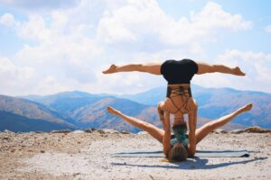 Acroyoga shoulderstand picture