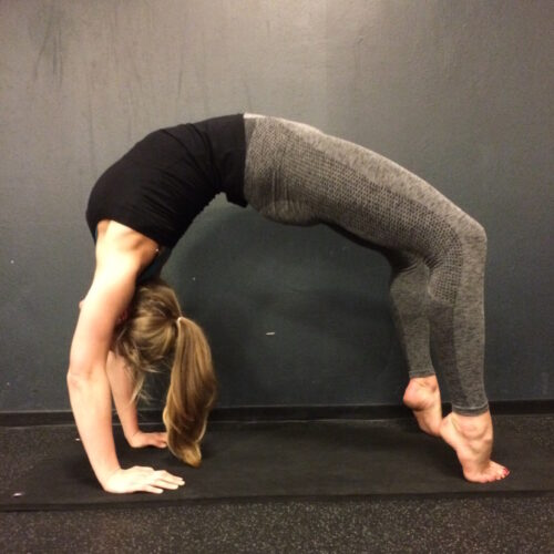 My first experience with yoga