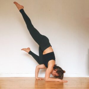 funky pincha pose from yoga