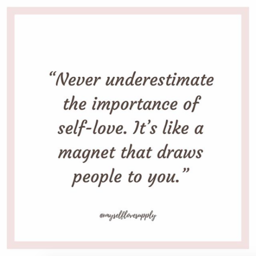 Instagram account to follow for positive habits and quotes and self-love