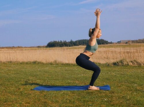 A yoga bum / glute strengthener