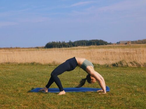 How to do the yoga transition from wild thing to wheel step-by-step tutorial