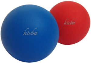 Massage balls for neck tension and myofascial release. Lacrosse balls to use for foam rolling and releasing and relieving tight and sore muscles